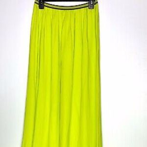 New Old Navy neon maxi skirt, Small